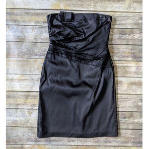 WHBM Strapless Little Black Party Dress